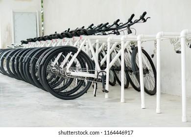 Bicycle at parking