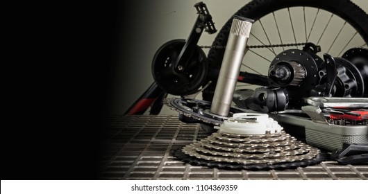 Bicycle parts and tools for bicycle maintenance