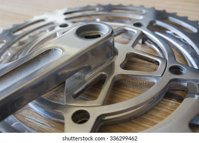 Bicycle pedal and cogs