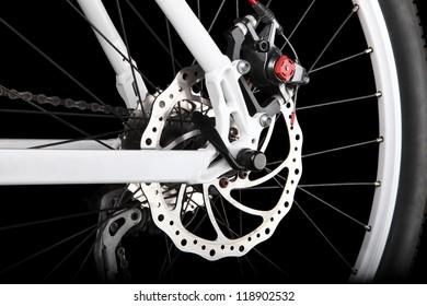 Bicycle rear disc brake