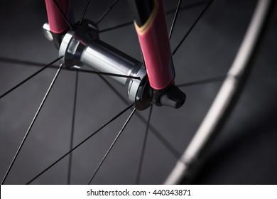 Bicycle road bike front wheel