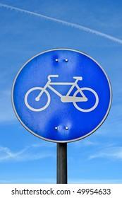 Bicycle road signal