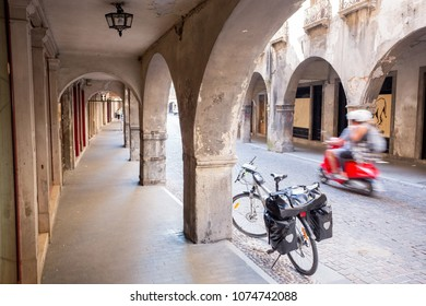 Bicycle in Serravalle,  Vittorio Veneto, Italy