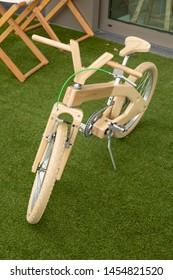 Bicycle show in Blankenberge, Flanders, Belgium, 07-15-2019
