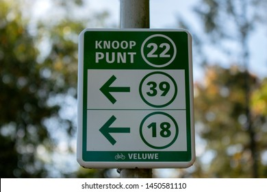 Bicycle Sign At Apeldoorn The Netherlands 2018