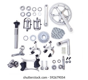 Bicycle spare parts for the repair of a bicycle