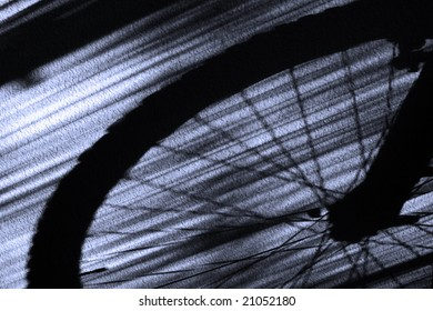 Bicycle Tire Shadow