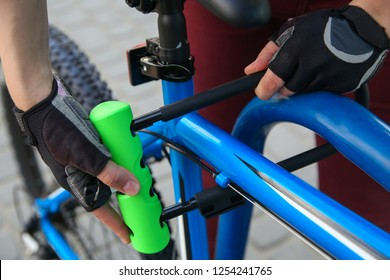 Bicycle U- lock