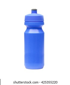 Bicycle water bottle in blue color