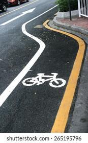 bicycle way sign