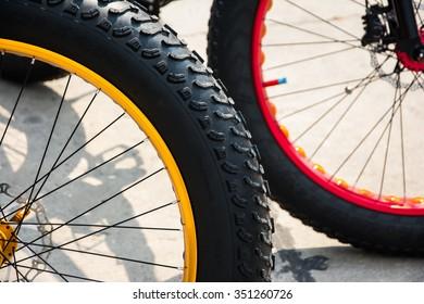 bicycle wheel outdoor