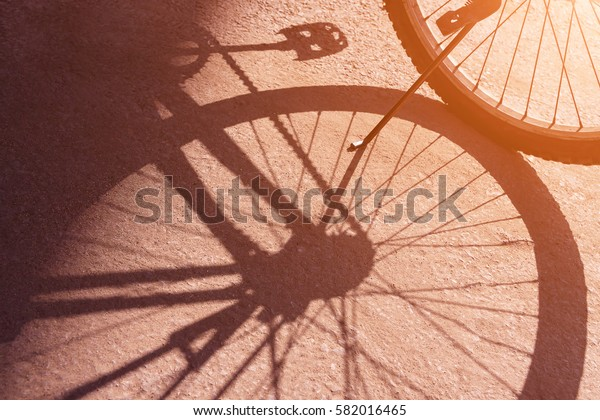 bicycle wheel  Shadow