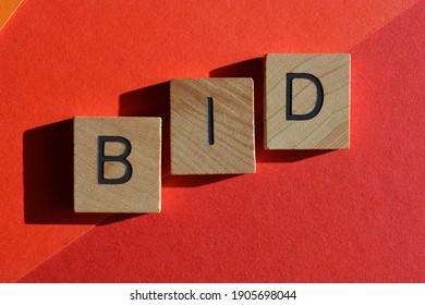 BID, acronym for Break It Down, or Business In Development