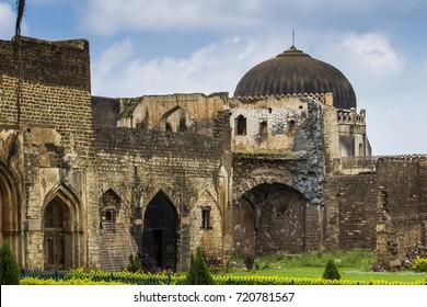At the Bidar Fort, Karnataka, India