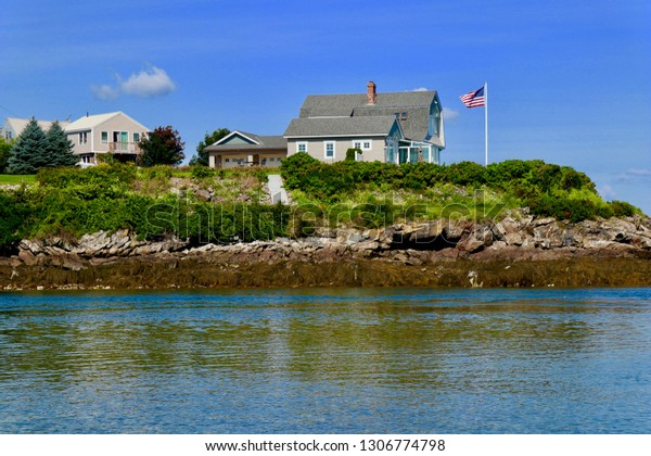 Biddeford Pool Maine Stock Photo Edit Now 1306774798
