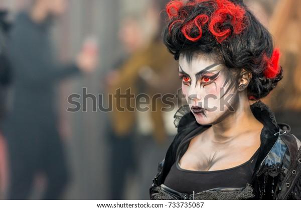 Halloween Fright Nights 2019 Walibi.Biddinghuizen Flevolandnetherlands October 8102017 Halloween
