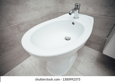 bidet in the bathroom