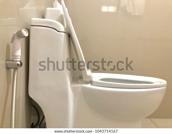 Bidet Shower Bidet Spray Toilet Bowl Stock Image Download Now