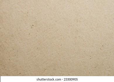 Biege textured cardboard background