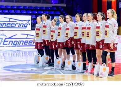 Biella (Italy) - 20th January 2019 - LegaBasket Femminile - Serie A1: IREN FIXI Torino vs Reyer Venezia at Hype Forum