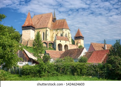Biertan fortified Church in one of the most important Saxon villages of Transylvania, Romania