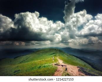 Bieszczady Mountains, Połonina Caryńska ( Infrared Photography)