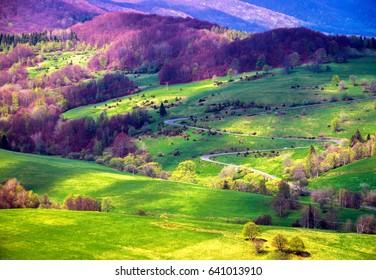 Bieszczady mountains and National Park - Poland