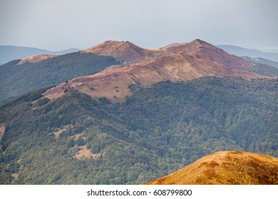 Bieszczady mountains, Polish Carpathians mountains