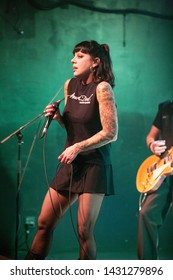 Bif Naked , Oct. 25 2018 , The Music Hall and Concert Theatre , Oshawa Ontario Canda Bif Naked AKA Beth Torbet
