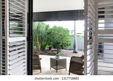 Bi-fold doors to patio