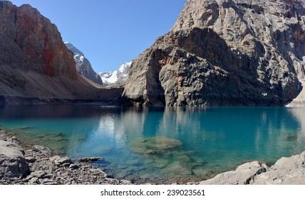 Big Alo is the most beauty lake of  Fann Mountains (also known as the Fanns) - Tadjikistan.