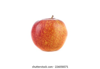 Big Apple on a white background .
