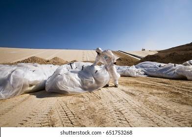 big Asbestos landfill