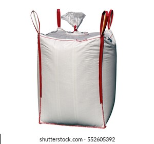 Big bag with red stripes