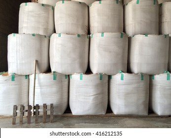 big bags of rice, Thailand