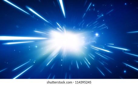 Big bang - universe background