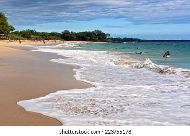 Big Beach (Makena) on the island of Maui, Hawaii