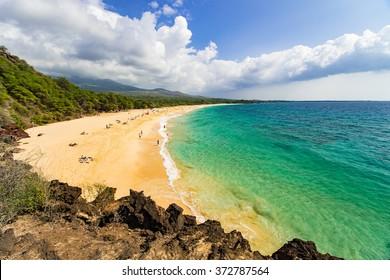 Big Beach on Maui, Hawai'i