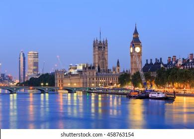 Big Ben in London, Großbritannien.