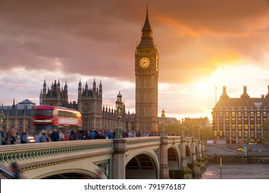 Big Ben Clock Tower, City of London, Westminster, United Kingdom