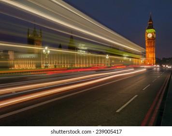 Big Ben Clock Tower, London England UK