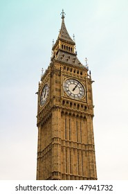 Big Ben clock tower in London