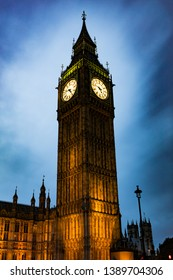Big Ben Clock Tower at Night.