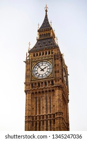 Big Ben Clock Tower, Palace of Westminster, London, United Kingdom