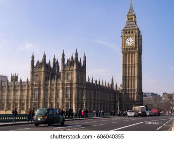 Big Ben (Elizabeth Tower), Palace of Westminster, Westminster Bridge, London