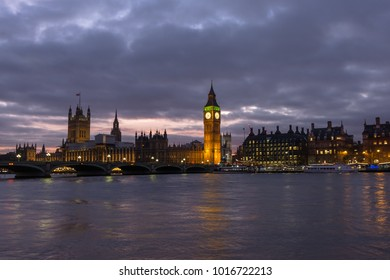 Big Ben and House of Parliament at evening, London, United Kingdom