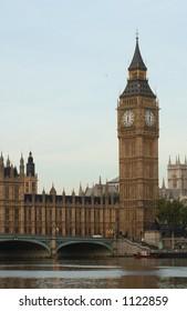 Big Ben -  Houses of Parliament, London England