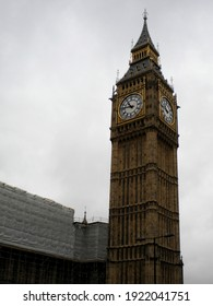 Big Ben and the Houses of Parliament in London at the United Kingdom