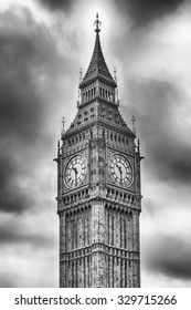 The Big Ben, Houses of Parliament, London, UK