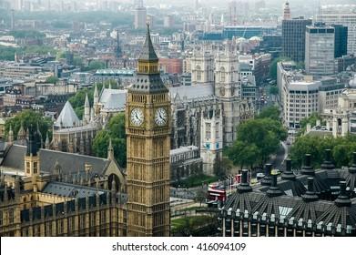 Big Ben in London, England